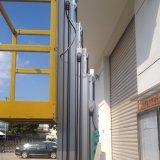 油圧アルミニウムマストの空気の上昇作業プラットホーム(最大高さ10m)