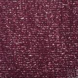 Composto Flor Lã / Tecido de algodão para inverno em vermelho