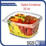 Limpar o recipiente salada de plástico descartáveis Pet