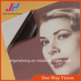 Autoadesivo unidirezionale del vinile della finestra di visione che fa pubblicità alla visione unidirezionale