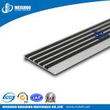 Escalera de la pieza inserta del carborundo que olfatea con los perfiles de aluminio