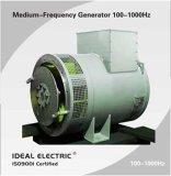 Безщеточный генератор (альтернатор) 100-1000Hz для индуктивных оборудований топления