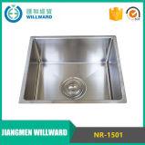 Dissipador de cozinha dobro do aço inoxidável da bacia 304 da alta qualidade