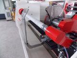 、覆うペーパーは電気、PLC PVC味方されたログロールの打抜き機を倍増する