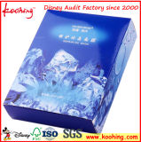Papier d'emballage de produits de beauté cosmétiques boîte cadeau
