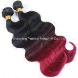 高品質の人間の毛髪の拡張(毛の毛バルクにweft/編むか、またはクリップ)卸売価格