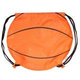 Impressão personalizada 190t poliéster saco para roupa suja no estilo de basquete