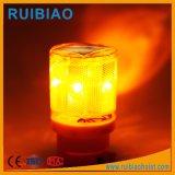 Grue à tour de l'énergie solaire lumière à LED rouge
