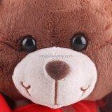 Jouet de cadeau de Valentine d'ours de nounours de peluche