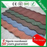 Type tuile de toiture /Corrugated de tuiles déplié par ventes chaudes couvrant la feuille