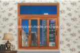 Finestra di scivolamento composita di legno di alluminio professionale di alta qualità della Cina