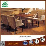Speisetisch-und Stuhl-gesetzte hölzerne Speisetisch-Entwürfe vier Stühle