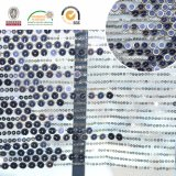 Slivery ткань шнурка Embroidry шариков, красивейший способ для новой ткани C10059 шнурка