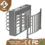 Cancello girevole pieno a metà elettronico di altezza