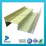 Perfil de alumínio de mercados da África para porta de vidro Quadro Casement com tamanho personalizado/a cores