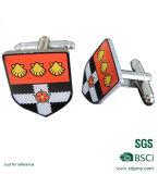 Kundenspezifischer Metallform-Manschettenknopf für Männer (CLS-409)