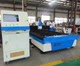 máquina de corte de fibra a laser de 500 W econômica para metais Ss CS Cortar