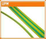 3: 1 verde/manicotto di Shrink di calore messo a nudo giallo di colore per i contrassegni fune/del cavo