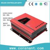 MPPT 태양 충전기 관제사 12V/24V/48V/96VDC 10AMP - 80AMP
