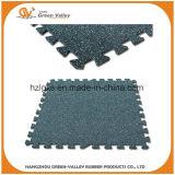 50x50cm mosaico de suelos de caucho resistente a golpes la alfombrilla de goma