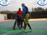 De Cliënt van Afrika kiest het Openlucht Vloeren van de Sporten van het Gebruik van het Basketbal