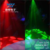 DMX 단계 빛 280W 광속 빛