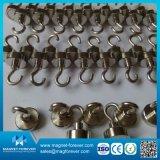Magnete sinterizzato di /Pot del magnete della tazza del neodimio con i fori svasati