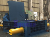 금속 압박 자동적인 폐기물 강철 짐짝으로 만들 기계