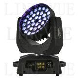 la etapa DJ de 36X10W DMX emite la luz principal móvil del LED