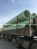 Pipe d'approvisionnement en eau de fibre de verre de GRP FRP