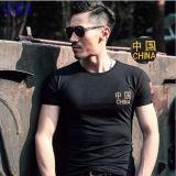 T-shirt militar respirável do projeto novo e t-shirt militar