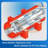 Двойной действующий электрический моторизованный роторный привод