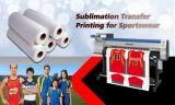 """90gsm Non-Curl à séchage rapide de haute qualité de la sublimation du papier de transfert de chaleur 36"""" fabricant chinois pour les textiles"""