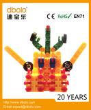 取りはずし可能な変形させた3Dブロックのおもちゃの煉瓦プラスチックブロック