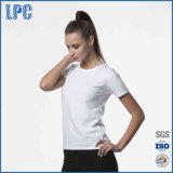 Les femmes 's col rond manches courtes -T-Shirt Solid Color Casual T - chemise