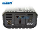 Suoer 1000W Gleichstrom 12V Energien-Inverter zum Wechselstrom-220V mit USB zwei (SAA-1000AS)