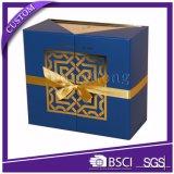 Vario contenitori di regalo impaccanti stampati del cartone di stili marchio su ordinazione