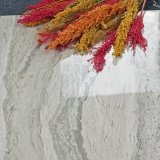 600X600mmの大理石の石造り光沢のある表面が付いているパターンによって艶をかけられる磨かれた床タイル