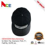 卸し売りカスタムレディース野球帽か黒い野球帽またはStrapbackの野球帽