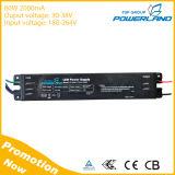 Driver costante 80W 2000mA della corrente LED con il certificato di TUV del Ce