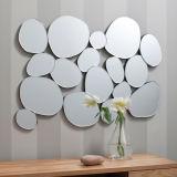 Unregelmäßigen Frameless dekorativen Wand-Spiegel kundenspezifisch anfertigen