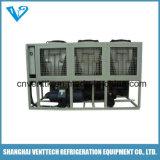 Refrigeratore di acqua industriale raffreddato aria del compressore della vite
