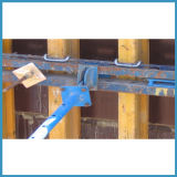 Molde de madeira personalizado da parede com feixe da madeira H20