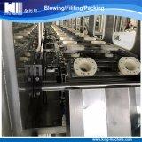 Maquinaria de relleno automática del llenador del fregado de las botellas de 5 galones que capsula de la fábrica de China