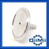En acier inoxydable sanitaires SS304 le collier de serrage raccord cranté de flexible