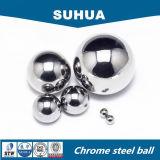 Bola de acero inoxidable de AISI304 304L 316 316L 6.5m m para el uso del rodamiento
