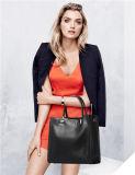 Bolsas de atacado populares Saco de ombro com couro de designer