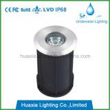 mini singolo LED LED indicatore luminoso esterno chiaro sotterraneo del lastricatore di 1W con la valutazione IP68