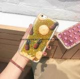 iPhone 6s를 위한 액체 모래 만화 인쇄 세포 또는 이동 전화 덮개