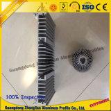 El disipador de calor de aluminio solicita la aplicación eléctrica del hogar
